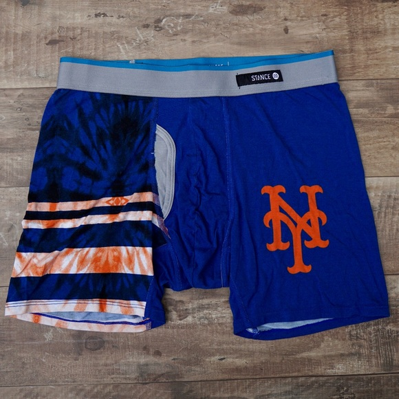 Stance Other - Stance New York NY Mets Blue & Orange Boxer Briefs